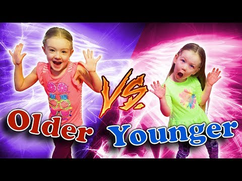 Older Siblings vs Younger Siblings!! Sisters Trinity and Madison!