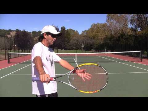 Tennis Tips: One-Handed Backhand – Swing Counter Weight