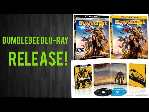 Bumblebee Blu-ray Release Details!