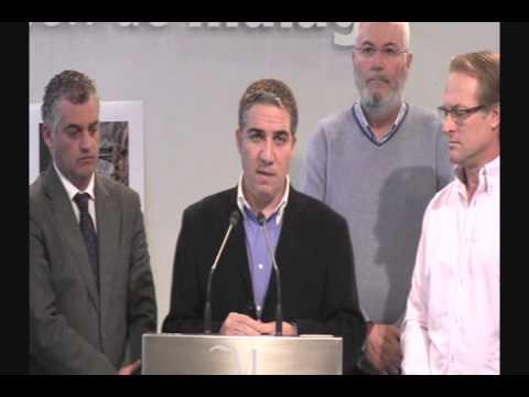Presentación del Proyecto de rehabilitación del Caminito del Rey