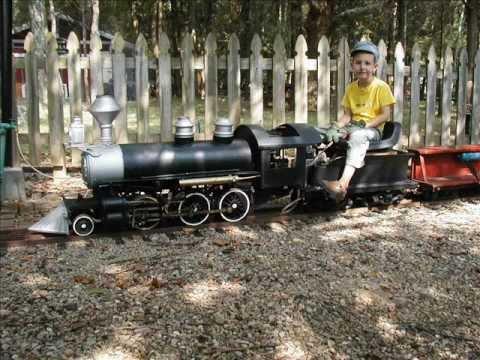 live steam model train railroad locomotive track 7.5