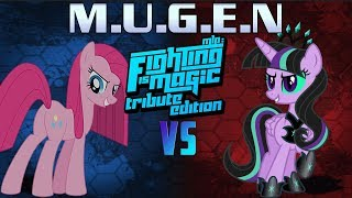 Mugen Fighting Is Magic Tribute Edition Pinkamena VS Twivine Sparkle