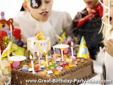 Great Birthday Party Ideas – Themes, Games, Gifts & Cakes. [HQ]