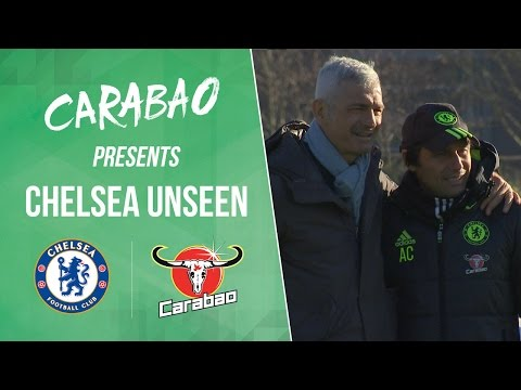 CHELSEA UNSEEN: Zola returns, Batshuayi and Kante meet the fans and training at the Bridge