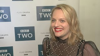 Elisabeth Moss gushes about her Top of the Lake co-star and 'really magical person' Gwendoline Christie. Report by Sarah Duffy.