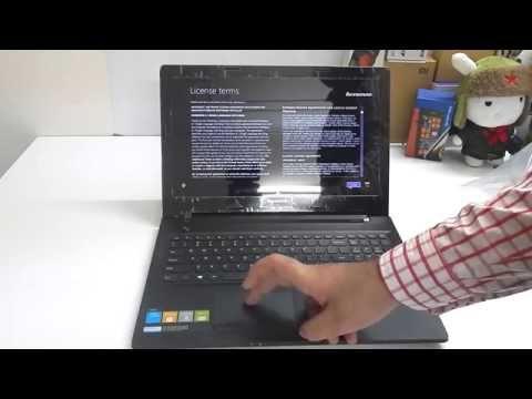 Lenovo G50-45 80E3005RIN 15.6-inch Laptop Unboxing