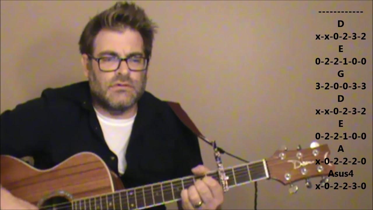 "How to play ""Janie's Got a Gun"" by Aerosmith on acoustic guitar"