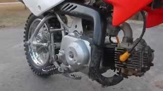 4. 2005 Honda crf 70 dirtbike