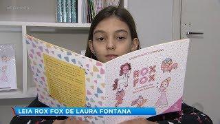 Menina de 10 anos de Bauru lança livro de aventuras e mistério
