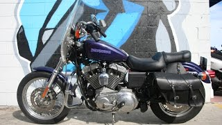 8. 2000 Harley Davidson XL1200 Sportster Motorcycle ... only 2258 miles!!