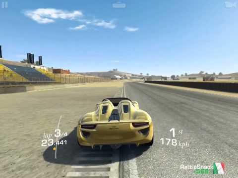 Porsche 918 real racing 3 снимок