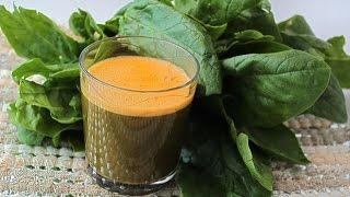 Супер-витаминный зеленый смузи
