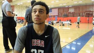 Nigel Williams-Goss Interview at USA Basketball U19 World Championship Tryouts