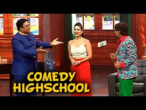 Sunny Leone and Ram Kapoor INTERVIEW For Comedy Hi