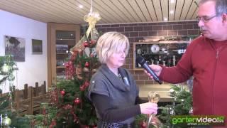 #914 Weihnachtsdekoration - Wie bindet man eine Weihnachtsschleife