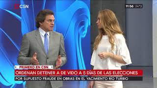 Video Ordenan detener a Julio De Vido a 5 días de las elecciones MP3, 3GP, MP4, WEBM, AVI, FLV Oktober 2017