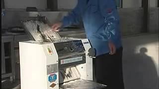 Тестораскаточная машина YP-350 (FT200) для раскатки крутого теста
