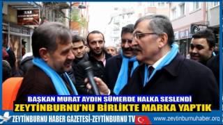 Başkan Murat Aydın Sümer Mahallesinin Sokaklarında Mini Mitinglerle Halka Seslendi