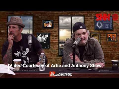 SNN Nightly News - Is Artie Still Getting High? Artie nose bleed on air