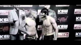 Chechen fighter Anzor Azhiev vs Vaso Bacosevic.