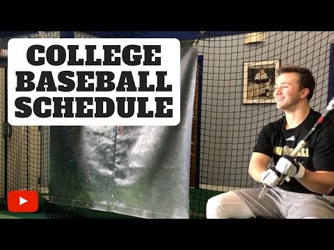 College Baseball Daily Schedule and Gear!