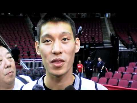 Jeremy Lin on James Harden Trade