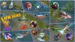 Download Video UPCOMING 6 NEW SKIN GAMEPLAY , SKIN SIAPA YANG KALIAN NANTIKAN GUYS ? MOBILE LEGENDS MP3 3GP MP4