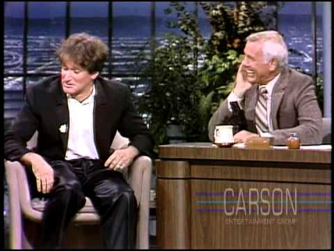 First Robin Williams interview