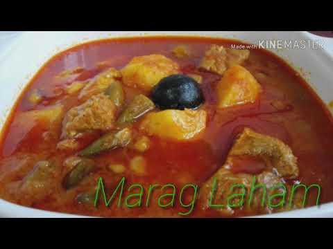 Marag Laham(lamb meat) Arabian dish recipe