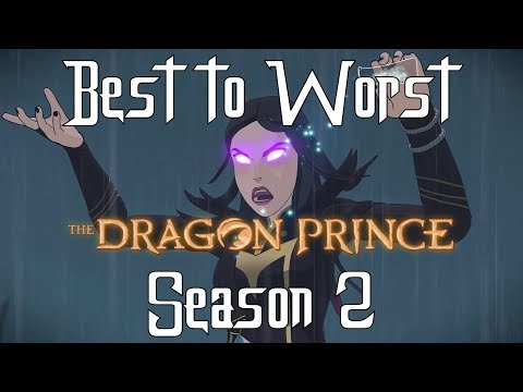 Best to Worst of The Dragon Prince Season 2