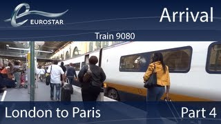 Video Eurostar: London to Paris: Part 4: Arrival MP3, 3GP, MP4, WEBM, AVI, FLV November 2017