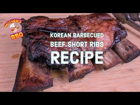 Kalbi (Korean Barbecued Beef Short Ribs) Recipe | Slow N Sear