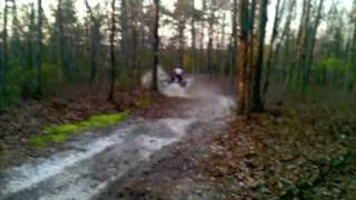9. Darrens yamaha yfz 450 rippin it