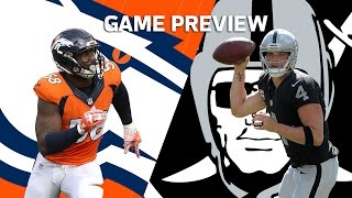 Von Miller & the Broncos vs. Derek Carr & the Raiders | Hype Trailer (Week 9) | NFL