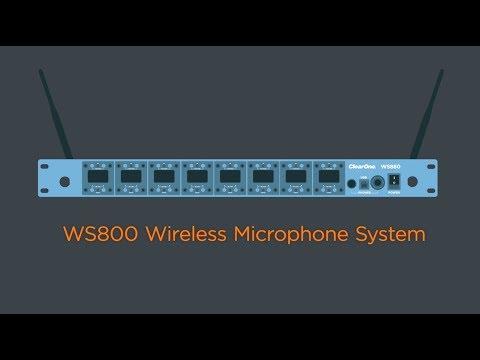 WS800 Wireless Microphone System