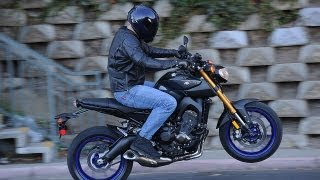 9. 2014 Yamaha FZ-09 First Ride - MotoUSA