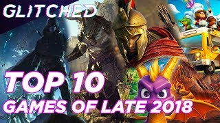 Our top 10 most anticipated games of late 2018