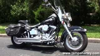 1. Used 2004 Harley Davison FLSTC Heritage Softail Classic Bikes for sale USA