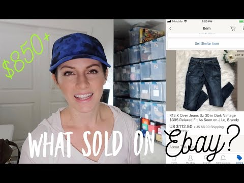 850 in Sales from 18 Items! What Sold on eBay? Tips amp Tricks to Find Profitable Items That Sell!
