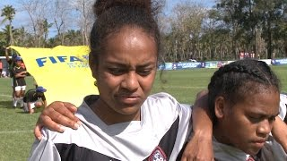 New Caledonia have their first points at the 2015 OFC U-20 Women's Championship after beating hosts Tonga 3-2 on Match Day...