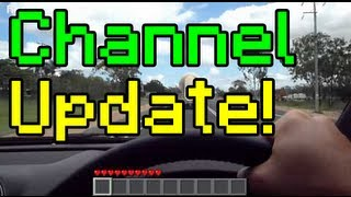 Real Life Minecraft - Channel Update Video June 2012