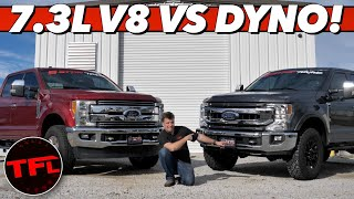 Godzilla vs Dyno! This is How Much Power & Torque the 2020 Ford Super Duty Tremor  Produces! by The Fast Lane Truck