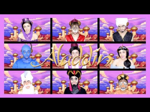 One Woman Aladdin Medley