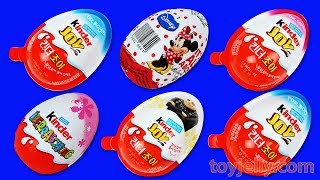 Super Kinder Joy Surprise Eggs Learn Colors Kids Marvel Heroes TMNT Minions Milk Carton Pokemon ToysFun and Creative Toddler Learning Video, Kids Video for Toddlers - toyjelly.comSounds : freesound.org/jokersounds.com/soundbible.comLicensed under Creative Commons: By Attribution 3.0http://creativecommons.org/licenses/by/3.0/