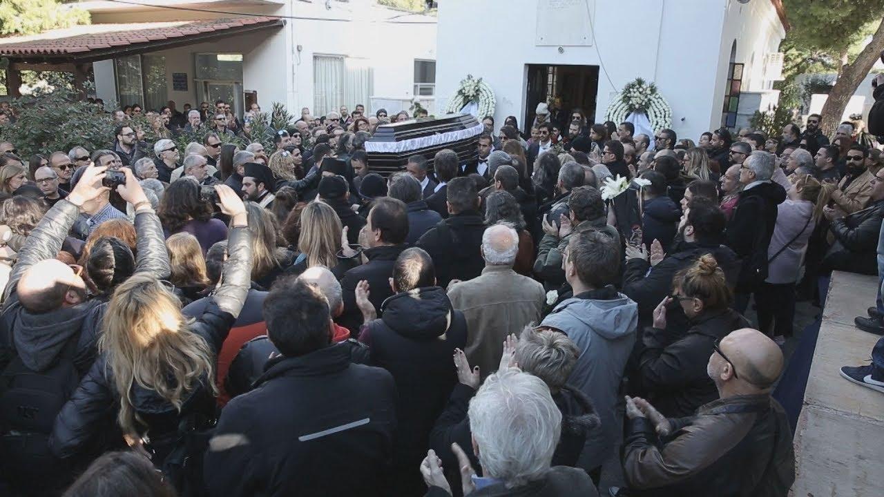 To τελευταίο αντίο στον Τζίμη Πανούση