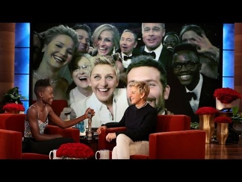 The Ellen Show - Lupita starred in the Oscar-winning Best Picture, and her brother made his way into the best picture from the Oscars!