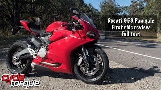 10. Ducati 959 Panigale review - watch before buying!