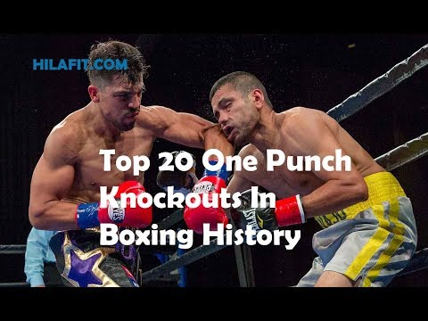 Top 20 One Punch Knockouts In Boxing History