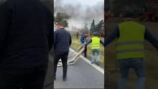 Policja zatrzymuje lidera Agrounii Michała Kołodziejczaka