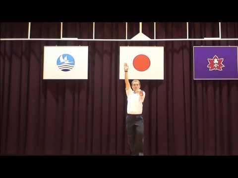 高尾野小学校校歌踊り